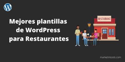 Las mejores plantillas wordpress para restaurantes y hosteleria