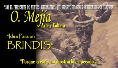 IDEA PARA UN BRINDIS - Ilustración y prosa de Oswaldo Mejía