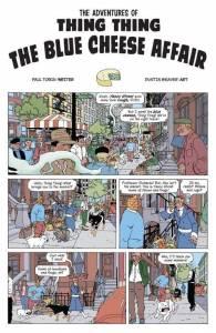 Los Cuatro Fantásticos En El Mundo De Tintin (Visto En Facebook)