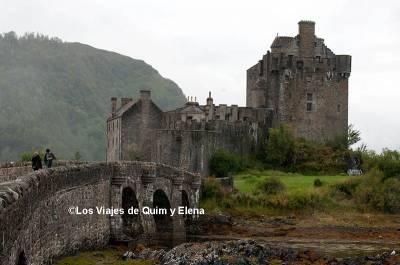Castillo Eilean Donan y la Isla de Skye