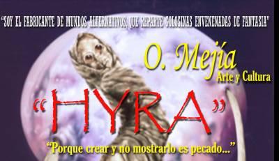 HYRA - Ilustración y cuento de O. Mejía