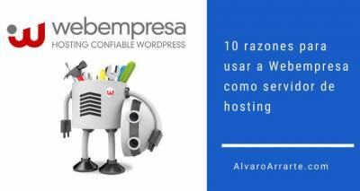 10 razones para usar a Webempresa como servidor de hosting