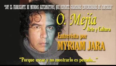 Entrevista A Oswaldo Mejía Por Myriam Jara