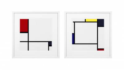 El Estilo de Mondrian, un icono omnipresente