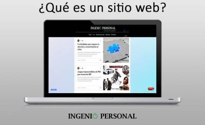 ¿Qué es un sitio web y qué elementos lo componen?