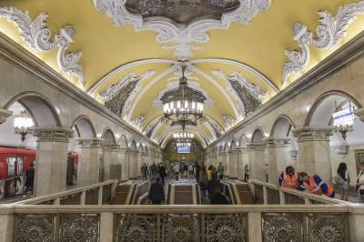 El lujoso metro de Moscú