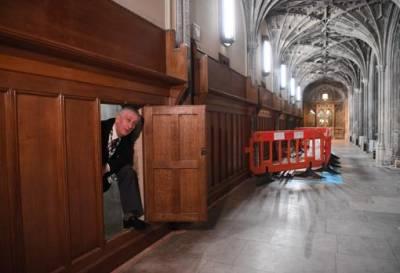 Pasadizo secreto en el Parlamento de LONDRES