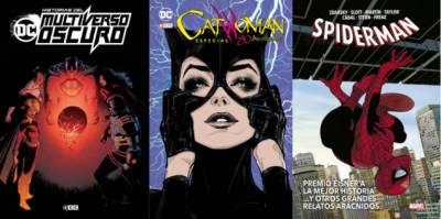 Historias Del Multiverso Oscuro, Catwoman: 80 Aniversario Y Spiderman: Premio Eisner A La Mejor Historia...