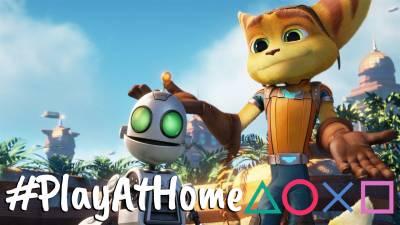 Ratchet & Clank Gratis Con #PlayAtHome
