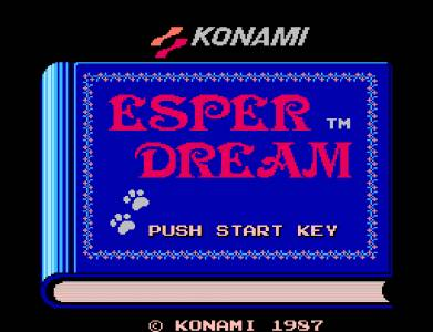 Esper Dream (Action RPG, Famicom Disk System)