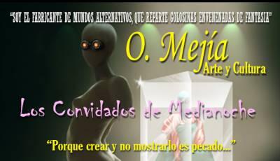 Los Convidados De Medianoche - Ilustración Y Prosa De Oswaldo Mejía