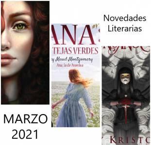 Novedades Literarias MARZO 2021