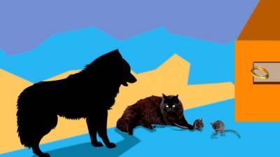El gato, el perro y el anillo mágico