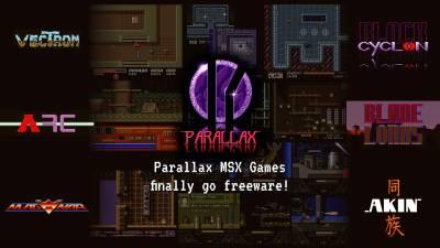 Los juegos de Parallax Software (Msx2) pasan a ser freeware