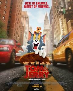 TOM Y JERRY (2021), se merecían algo mejor (crítica sin spoilers)