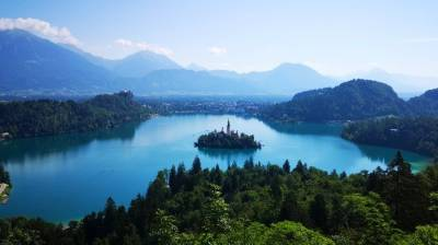 Viaje en caravana por Eslovenia – 2a etapa: Bled
