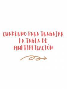 ▷Tablas de multiplicar | Cuaderno en PDF descargable | Educacon. es