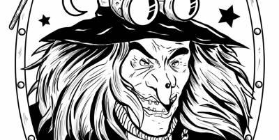 Ilustración: Bruja Steampunk