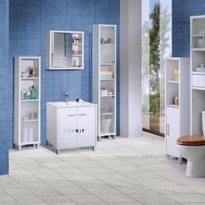Muebles de baño los mejores aliados para almacenar