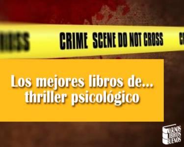 Los mejores libros de… thriller psicológico