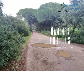 Caminos públicos – Caminando por aqui