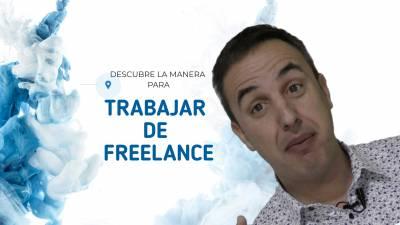 Trabaja de freelance