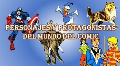 El cómic en sus orígenes - Personajes y protagonistas del mundo del cómic