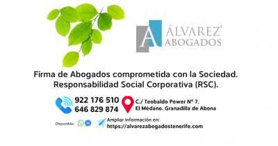 Responsabilidad Social Corporativa | Alvarez Abogados Tenerife