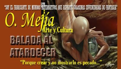 Balada Al Atardecer - Ilustración Y Prosa De O. Mejía