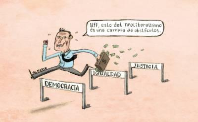 Capitalismo neoliberal; degradación medioambiental, desigualdad y crisis político/social