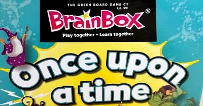 Juegos de mesa en familia: Once upon a time Brain Box