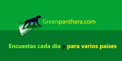Greenpanthera. com: Gana dinero llenando encuestas. Mi experiencia