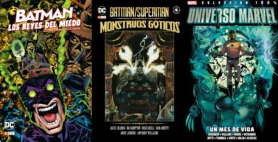 Batman: Los Reyes Del Miedo, Batman/superman: Monstruos Góticos Y Universo Marvel: Un Mes De Vida (Reseñas)