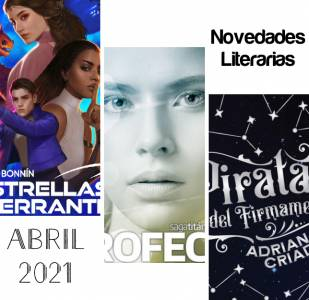 Novedades Literarias ABRIL 2021