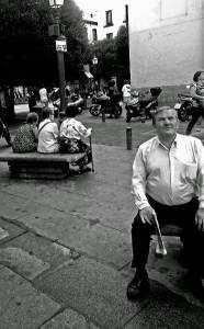 Escenas de Madrid - barrio de Malasaña