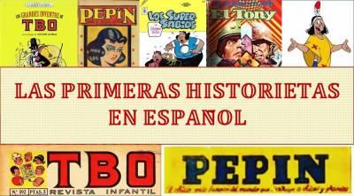 El cómic en sus orígenes - Las primeras historietas en español