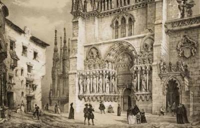 Puertas y Portadas de la Catedral de Burgos (III): Coronería y Pellejería