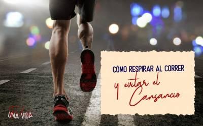 ¿Cómo respirar al correr y evitar el cansancio? - Una Vida Feliz