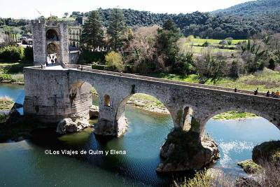 Besalú, ciudad medieval en Girona