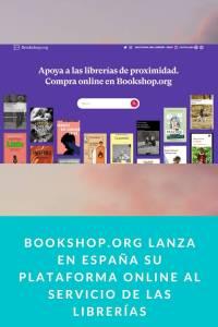 Bookshop lanza en España su plataforma online al servicio de las librerías - Munduky