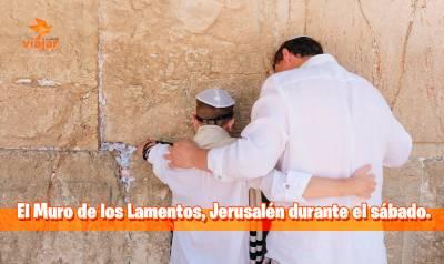 El Muro de los Lamentos, Jerusalén