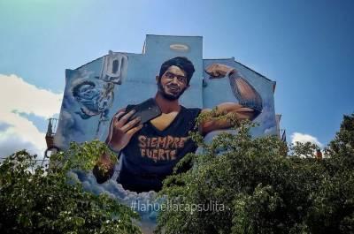 Lagunillas: El barrio de arte urbano malagueño