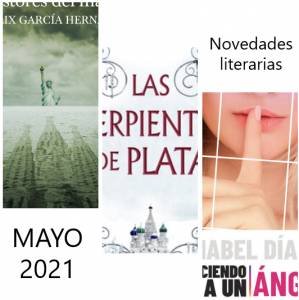 Novedades Literarias MAYO 2021