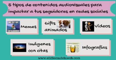 Recursos para crear contenidos audiovisuales para tus redes sociales