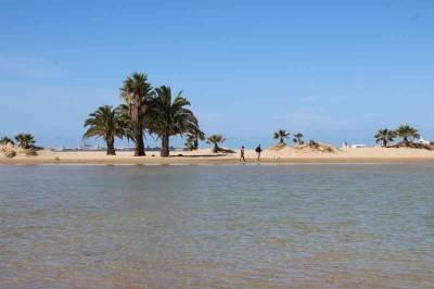 Inusual paisaje en la playa de la Puntilla - Antonio García Prats