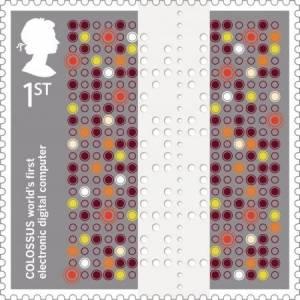¿Sabías que…? Gran Bretaña dedico un sello postal a Colossus la máquina que ayudo a descifrar los mensajes…