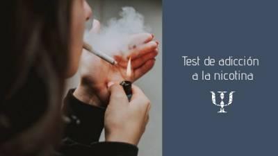 Test de dependencia al tabaco • Servicios de Psicología