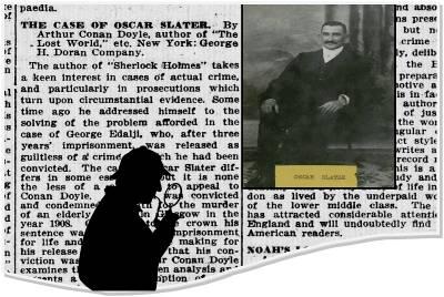 Arthur Conan Doyle, de las páginas de Sherlock Holmes a resolver un crimen real