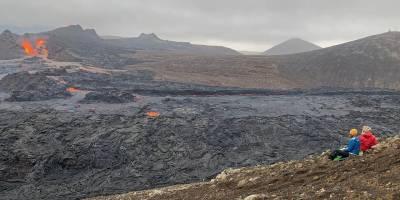 Explorando el nuevo volcán de Islandia