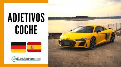Alemán Español - Adjetivos Coche